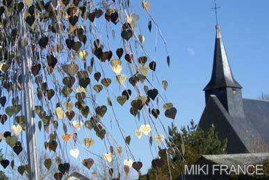 バレンタイン村の教会
