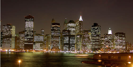 プロムナードから眺めるマンハッタン