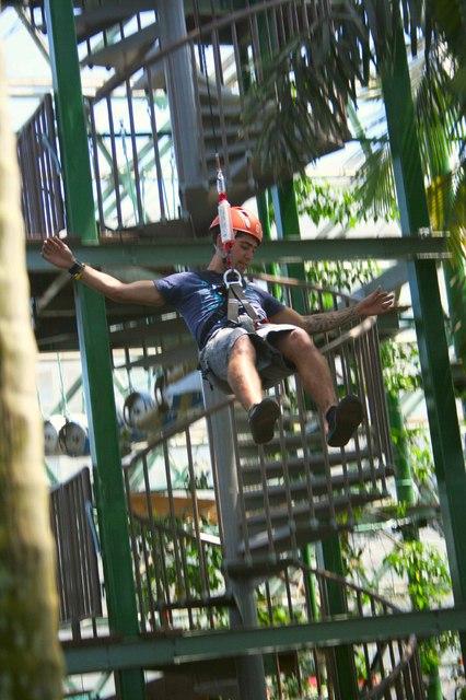 パワージャンプ、13Mからジャンプ!