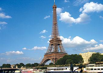 パリで自由時間もたっぷり