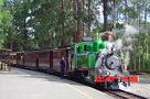 パッフィングビリー蒸気機関車