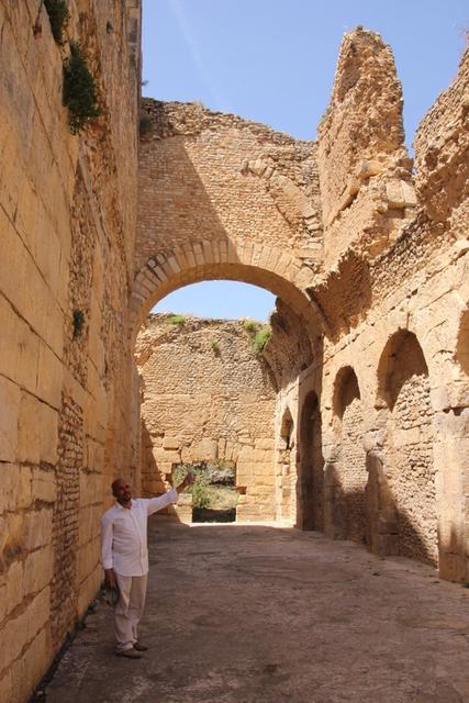 ローマ遺跡ブラ・レジア