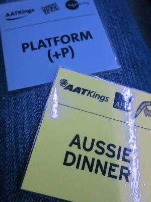 プレミアムシート&夕食付き このようなチケットをもらいます