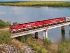 長距離鉄道グレートサザンレールウェイ ザ・ガンでオーストラリアを縦断 - アリススプリングス発