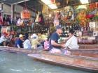 水上マーケット&エレファント・クロコダイルショー&サンプラーン・リバーサイド(旧ローズガーデン)バンコク発