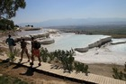 世界遺産パムッカレとヒエラポリス遺跡1日ツアー(クシャダスまたはセルチュク発)