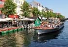 コペンハーゲン運河クルーズ乗船チケット(ニューハウン発)