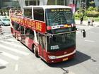 オープントップバスで上海市内1日観光