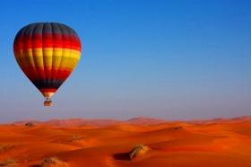 ドバイ・熱気球ツアー!! ドバイの絶景を空から見る 【期間限定9月~5月】