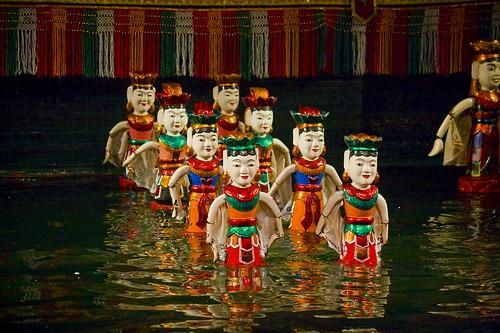 ハノイナイト 旧市街と水上人形劇
