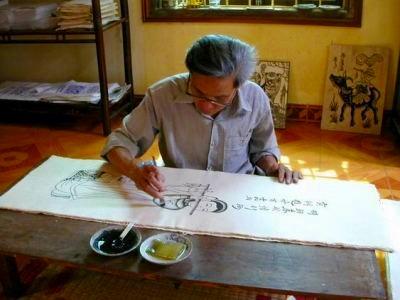 ハノイ伝統工芸村を訪ねて