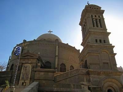 オールドカイロ キリスト教の古い町並み