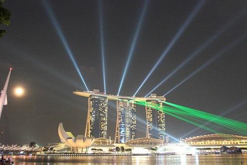 夕方発!シンガポール夜景ツアー