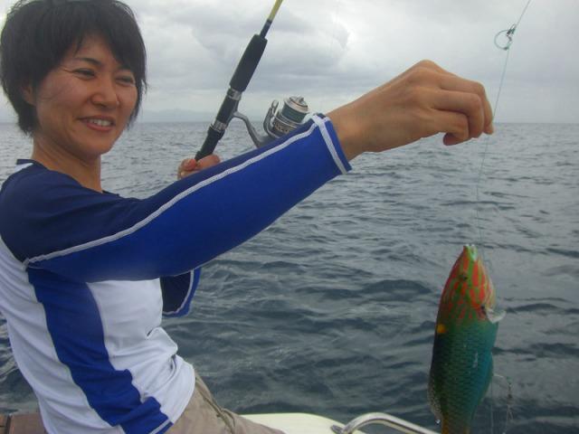 バリ島で釣り ボトムフィッシング
