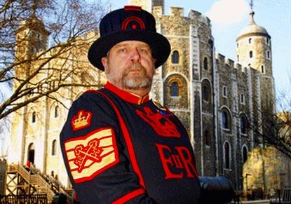 ロンドン塔入場券