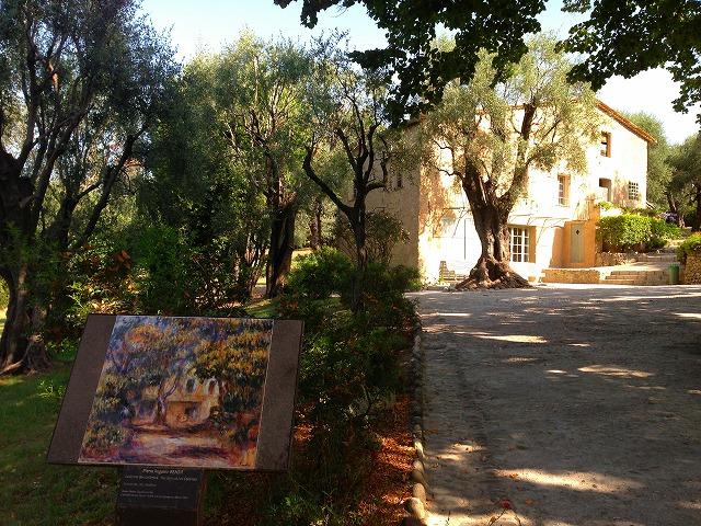 日本語ガイド付き ルノワールの家と近代画家の故郷サン・ポール半日観光