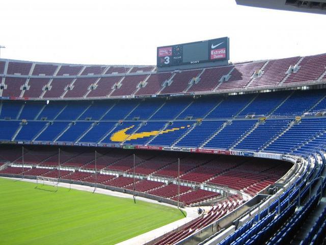 F.C.バルセロナ サッカースタジアム見学ツアー