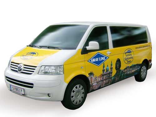 専用車で安心の片道送迎 インスブルック発ザルツブルグ市内ホテル行き