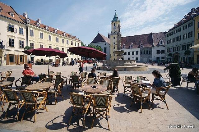 スロバキア首都ブラチスラヴァとデヴィーン城半日観光!【期間限定5月~10月】