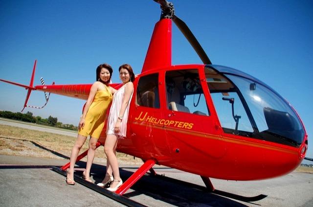 プライベート・クルーズ/ヘリコプター・サンセット・フライト