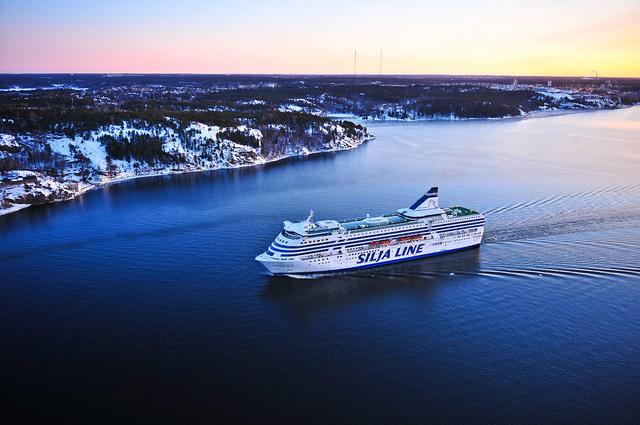 【タリンクシリヤライン】バルト海クルーズ乗船券 ヘルシンキ-ストックホルム ルート