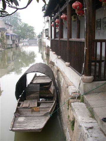 朱家角半日観光(古運河遊覧)