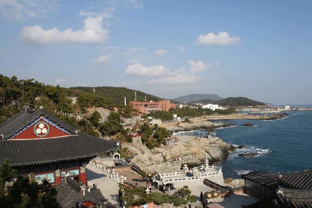 釜山近郊「海東龍宮寺」と釜山市内終日ツアー