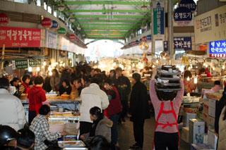 ソウル在来市場&ナイトショッピングツアー