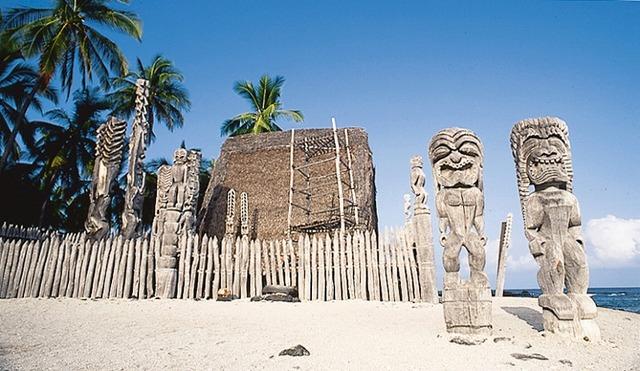 ハワイ島 日帰観光 世界遺産の絶景