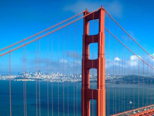 サンフランシスコ発 グランドシティツアー +ベイクルーズ