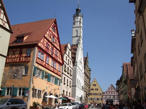 中世の宝石 ローテンブルク1日観光 ロマンチックライナー [GW、6月下旬~10月下旬催行/ みゅう] フランクフルト行きプランあり