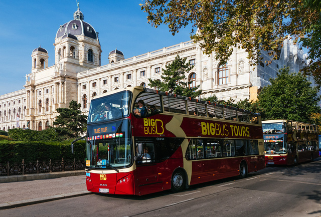 ビッグバスツアーウィーン 乗り降り自由な市内観光バス乗車券 日本語オーディオ解説付き