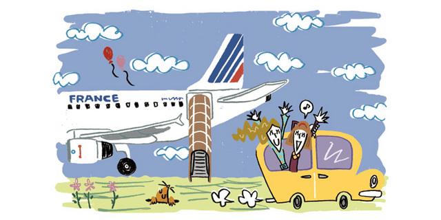 シャルル・ド・ゴール空港またはオルリー空港からパリ市内ホテル行[日本語アシスタント付]
