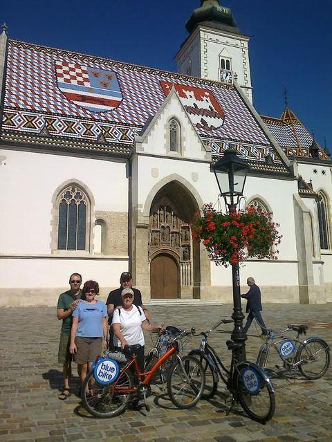 自転車でまわる!クロアチアの首都、ザグレブ半日ツアー[英語ガイド]