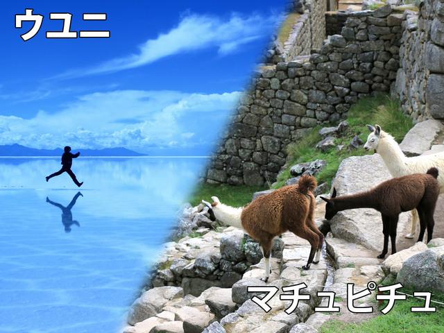 ウユニ塩湖 & マチュピチュ 6日間 / 英語・ドライバーのみ [サンフランシスコ 発] ※燃料込み