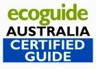 ガイドのシェーンさんはオーストラリア認定エコガイド!