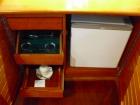 小型冷蔵庫、コーヒー、紅茶セットも標準装備
