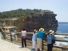 ザ・ギャップの断崖絶壁