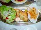 食事つきコース(白身魚)