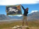 ローハンの旗を持って