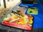 食後に冷たいフルーツでリフレッシュ!