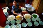 ランチはベトナム料理のビュッフェです!