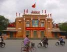 ハイフォンの町は閑静としており、ベトナムとは思えません。