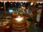 サイゴン川・ディナークルーズの洒落た船内