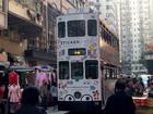 香港の2階建てトラムにも乗ります!