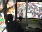 トラムの2階から見下ろす香港の街