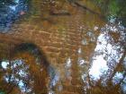 水中に彫られた無数のリンガ