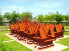 カンボジア国立博物館のミニチュア