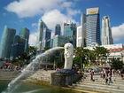やっぱりシンガポールに来たら外せないマーライオン