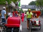 シンガポール版人力車「トライショー」